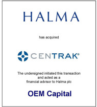 Halma Has Acquired CenTrak