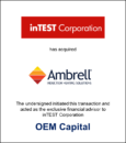 inTEST Corporation has acquired Ambrell Corporation
